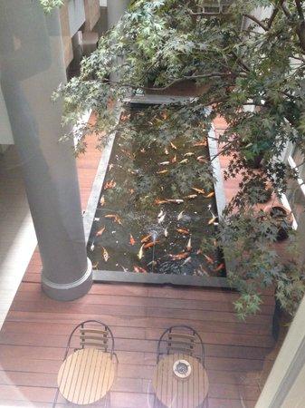 Avissa Suites : View from room window (suite)