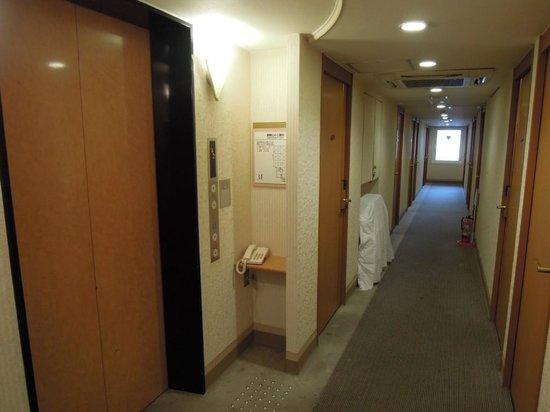 APA Villa Hotel Kyoto Ekimae: エレベーターは1台