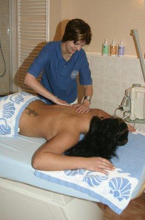 Appartement-Haus Dornbusch: Massage