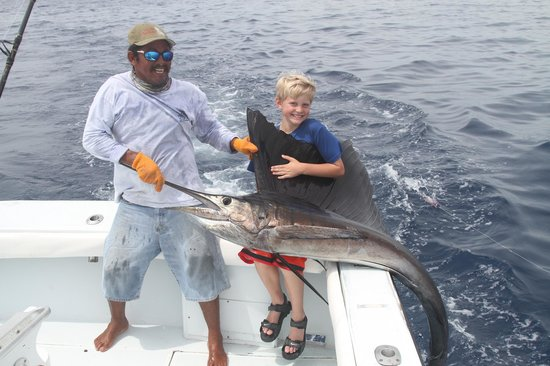 JP Sport Fishing Tours: My sons first sail