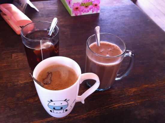 Tommy's Place, Tip of Borneo: Limited beverages available at the cafe'