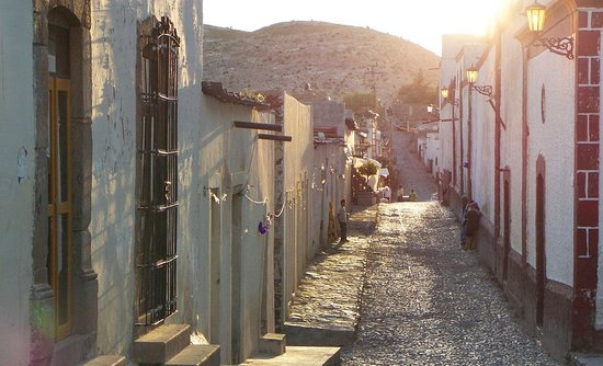 Street in Real De Catorce