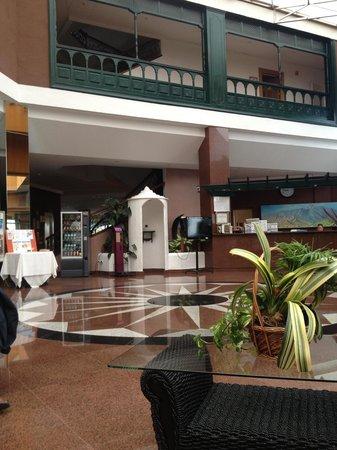 diverhotel Tenerife Spa & Garden: Réception