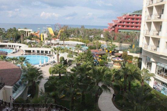 Mukarnas Spa Resort: Balkon manzarası