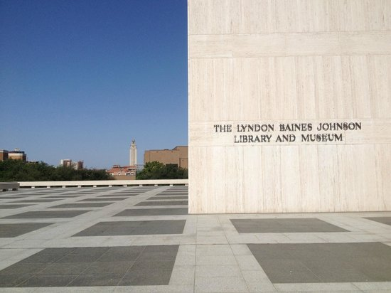 LBJ Presidential Library : Located on UT campus.