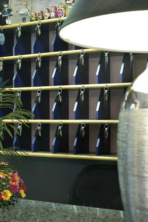 Hotel Storione: Reception