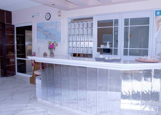 Louladakis Apartments: Reception