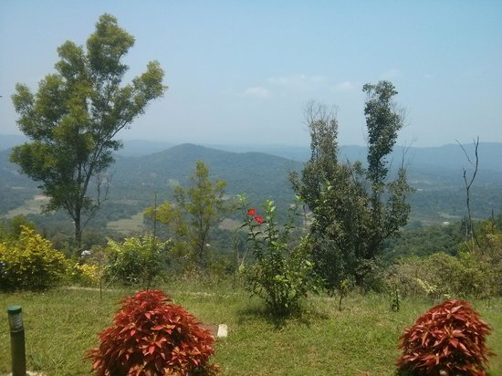 Hotel Mayura Valley View Madikeri: view from valley view reception