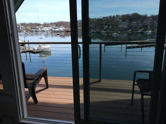 Rocky Neck Accommodations: View from Penthouse (Room 12)
