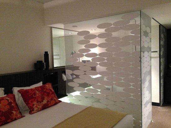 Inspira Santa Marta Hotel : open douche