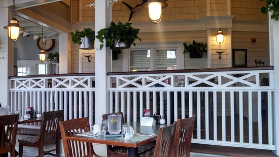 Turning Point: Fenced in Raised Dining Area