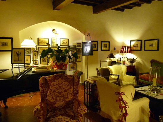 Salon picture of hotel cellai florence tripadvisor for Cellai hotel florence