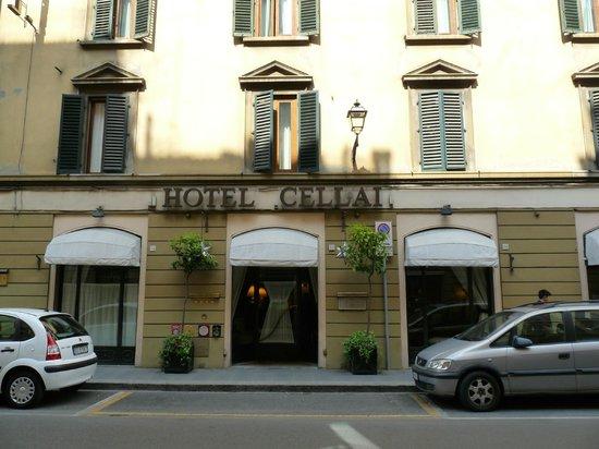 Hotel Cellai: Entrée de l'Hotel