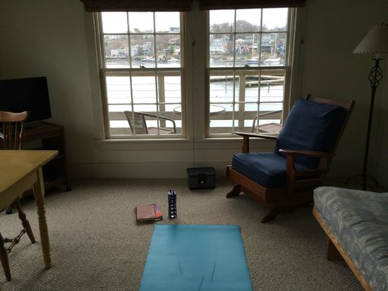 Rocky Neck Accommodations: View from Room 16