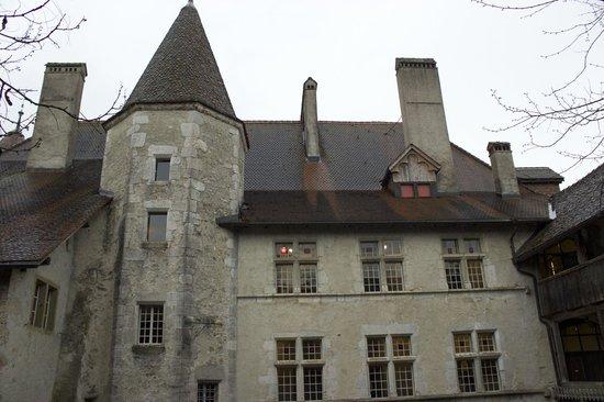 Château de Gruyères : Vista dall'esterno