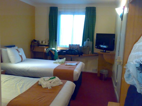Holiday Inn Express Bath : interno camera