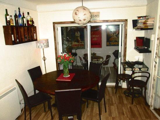 Poker Hostal: Comun Area