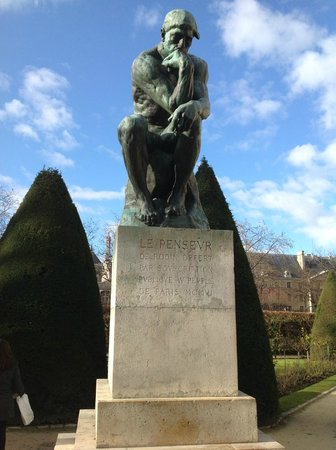 Musée Rodin : Thinking Hard...
