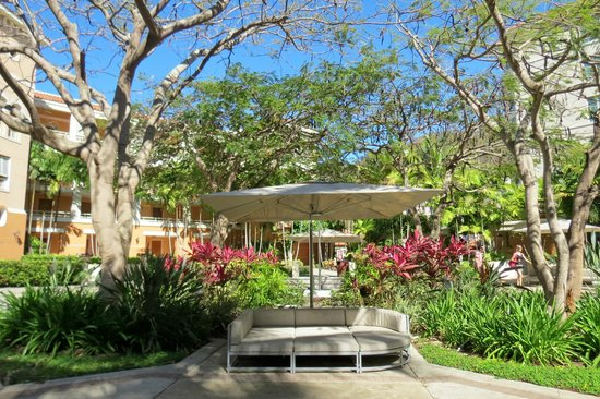 Rincon Beach Resort : Well kept grounds