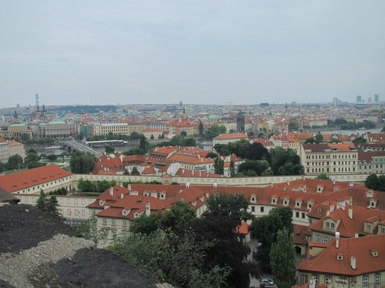 Château de Prague : The view from Prague Castle.