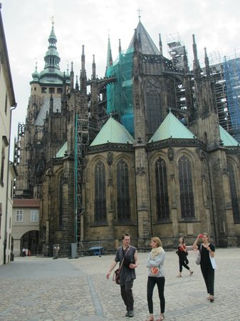 Château de Prague : St Vitus Cathedral.