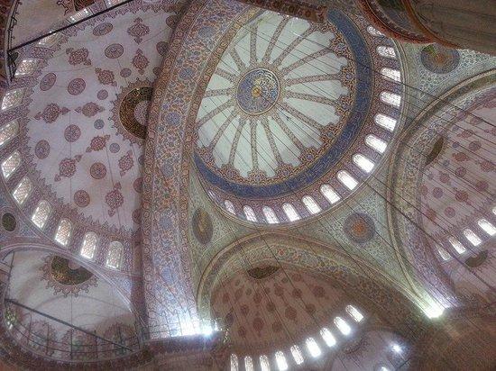 Mezquita Azul: interior