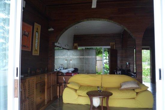 Sangany Lodge: Le salon
