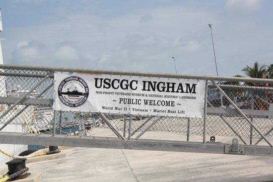 U.S. Coast Guard Cutter Ingham Maritime Museum: The USCG Cutter Ingham