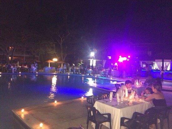 BelleVue Dominican Bay : Cena al aire libre