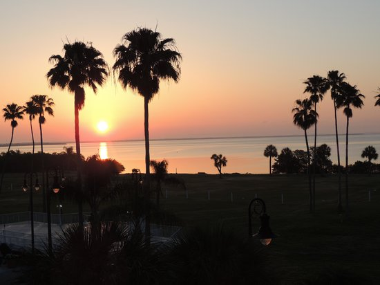 Safety Harbor Resort and Spa: Sunrise on Tampa Bay