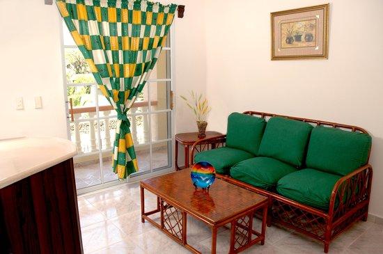 Sosua Horizon Apartments : Living Room