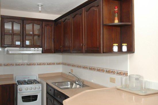 Sosua Horizon Apartments : Kitchen