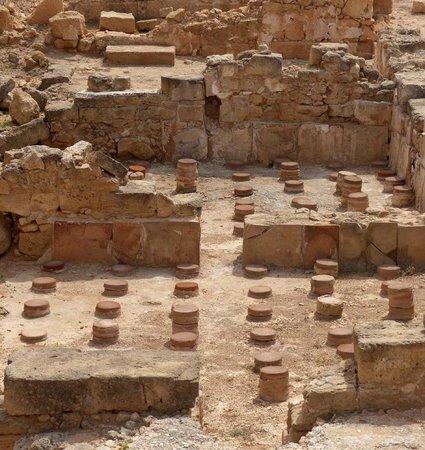 Kato Paphos Archaeological Park: Hypocaustum