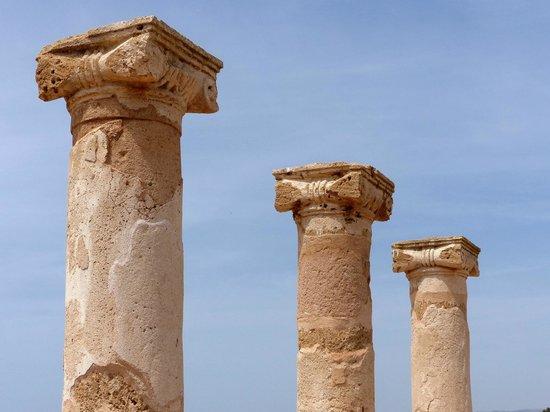 Kato Paphos Archaeological Park: Zuilen