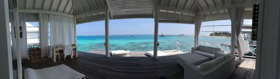 Diamonds Thudufushi : terrace