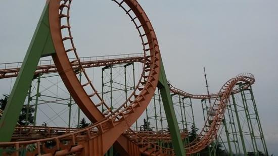 Mtatsminda Amusement Park: tight seats but a lot of fun.