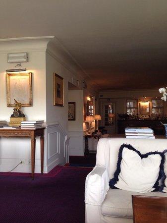 Hotel Lungarno: Lounge do hotel