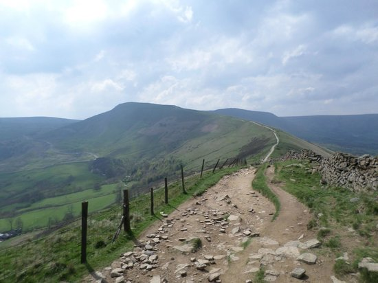Ridge Walk Mam Tor to Losehill: see for miles