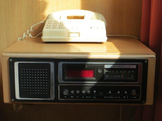 Bryghia Hotel: Radio qui ne fonctionne pas. Pas étonnant vu son grand âge