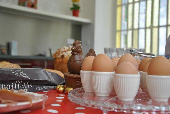Bed & Breakfast L'Orangerie: la colazione