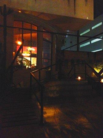 Guadalupe Bar e Restaurante Mexicano: Main entrance