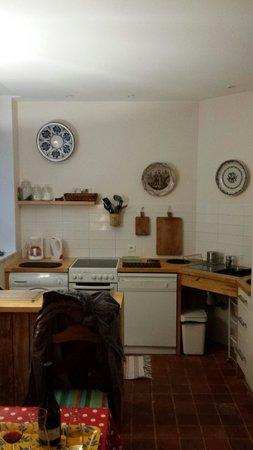 L'Atelier Du Relais : La cuisine