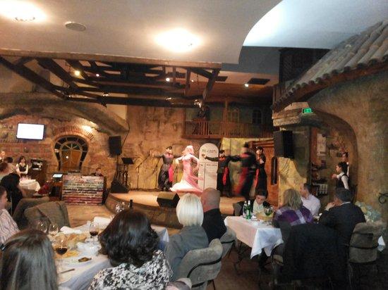 In The Shadow Of Metekhi: folk performance