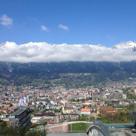 Bergisel Sprungschanze: vista panoramica