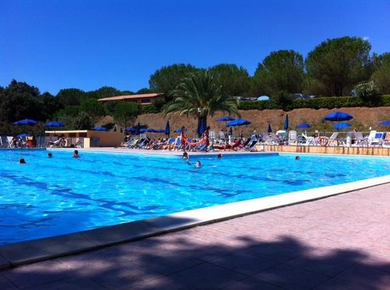 Camping Valle Gaia: The pool