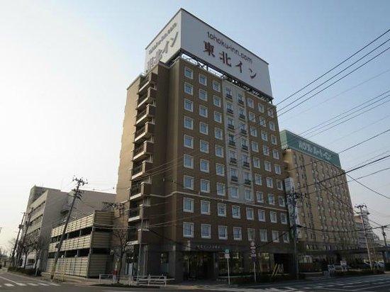 Tohokku inn Hotel Furukawaekimae: ホテル外観