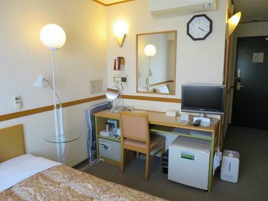 Tohokku inn Hotel Furukawaekimae: シングル