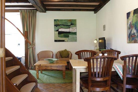 Schaloen Castle : appartement voorbeeld