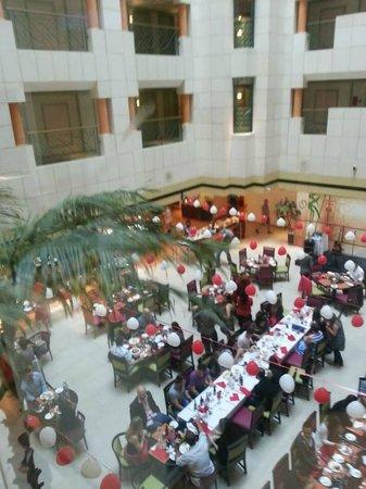 Crowne Plaza Hotel Abu Dhabi: Valentine's happening