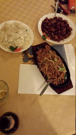 The Chinese Dragon Restaurant : The meal